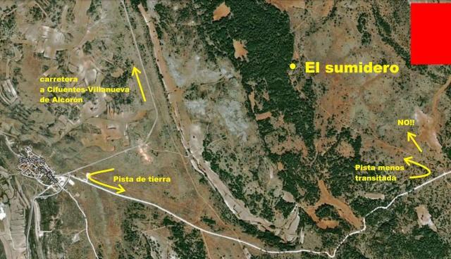 Sumidero del Campo (el Pozuelo) Locali11