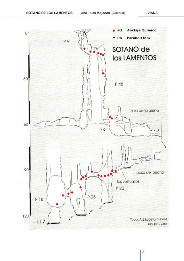 Instalado el sótano de los lamentos con anclajes químicos Sotano11