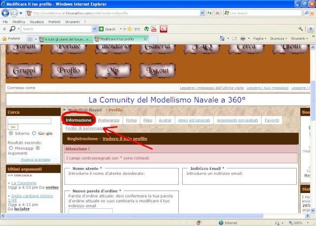 a tutti gli utenti - A tutti gli utenti del forum...età anagrafica 111