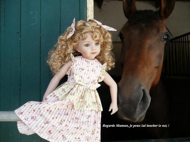 SARAH  (poupée Maru & Friends)va à  l'Ecole d'Equitation (page 2) - Page 2 P1080143
