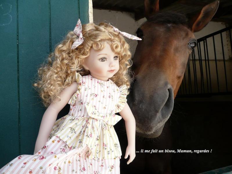 SARAH  (poupée Maru & Friends)va à  l'Ecole d'Equitation (page 2) - Page 2 P1080144