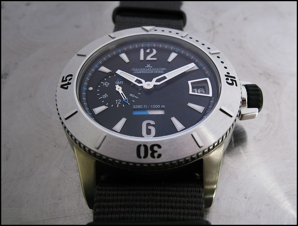 Jaeger LeCoultre Master Compressor Diving GMT Jlc_411