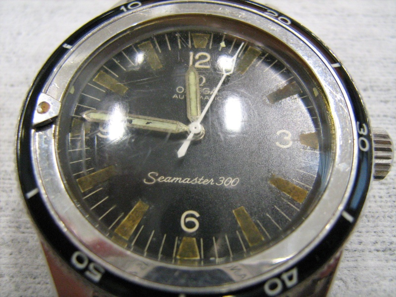 The last Omega Seamaster 300 with straight lugs: ref. 165.014 Omega_13