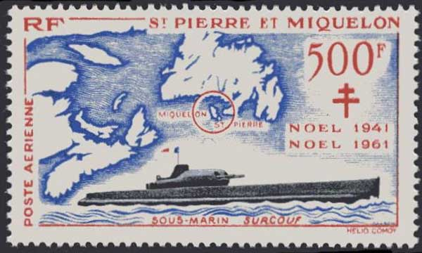 SM Surcouf Stamps10