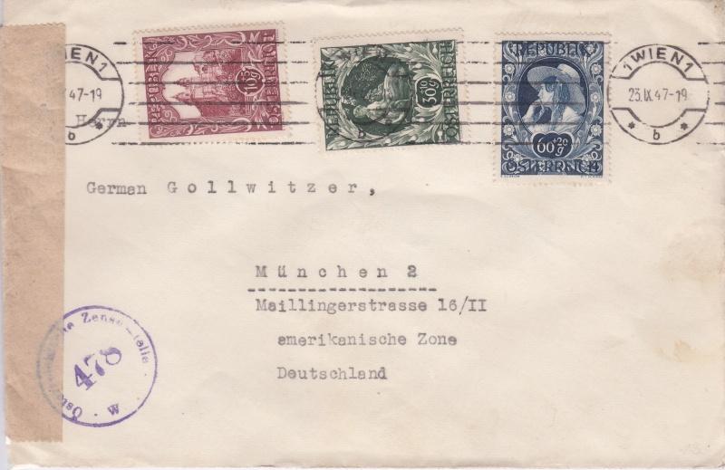 Sammlung Bedarfsbriefe Österreich ab 1945 - Seite 4 194710