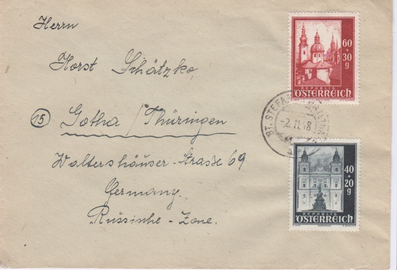 Sammlung Bedarfsbriefe Österreich ab 1945 - Seite 4 194810