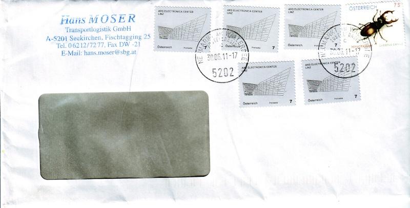 1. Mai 2011 Ersttag von 15 Briefmarken in Österreich !!! 5x_00710