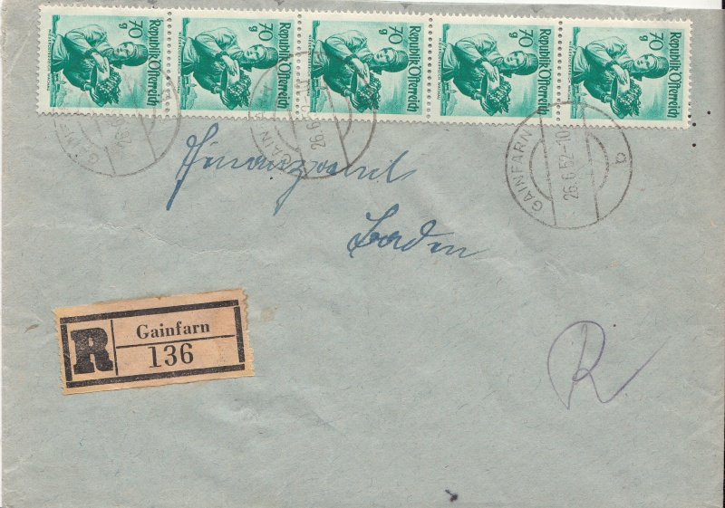 Trachtenserien ANK 887 - 923 und 1052 - 1072 Belege - Seite 5 Img26