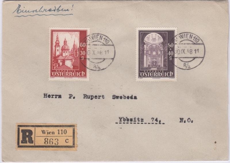 Sammlung Bedarfsbriefe Österreich ab 1945 - Seite 4 Salzbu10