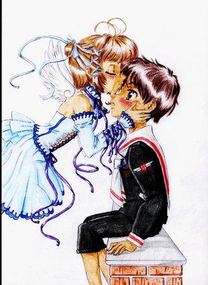 Les baisers de Shaolan et Sakura  Oooooo10