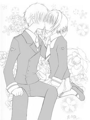 Les baisers de Shaolan et Sakura  Sur_le10