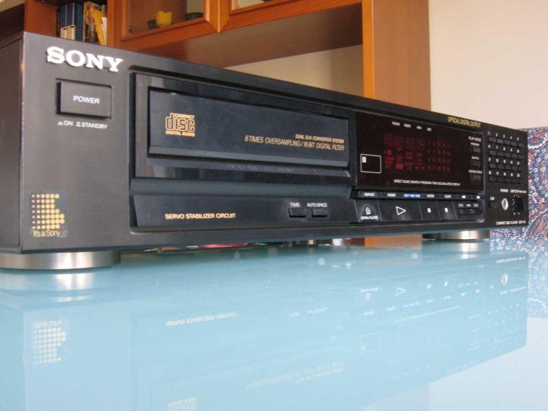 SONY CDP 770 BURR BROWN - Riparato Img_1510