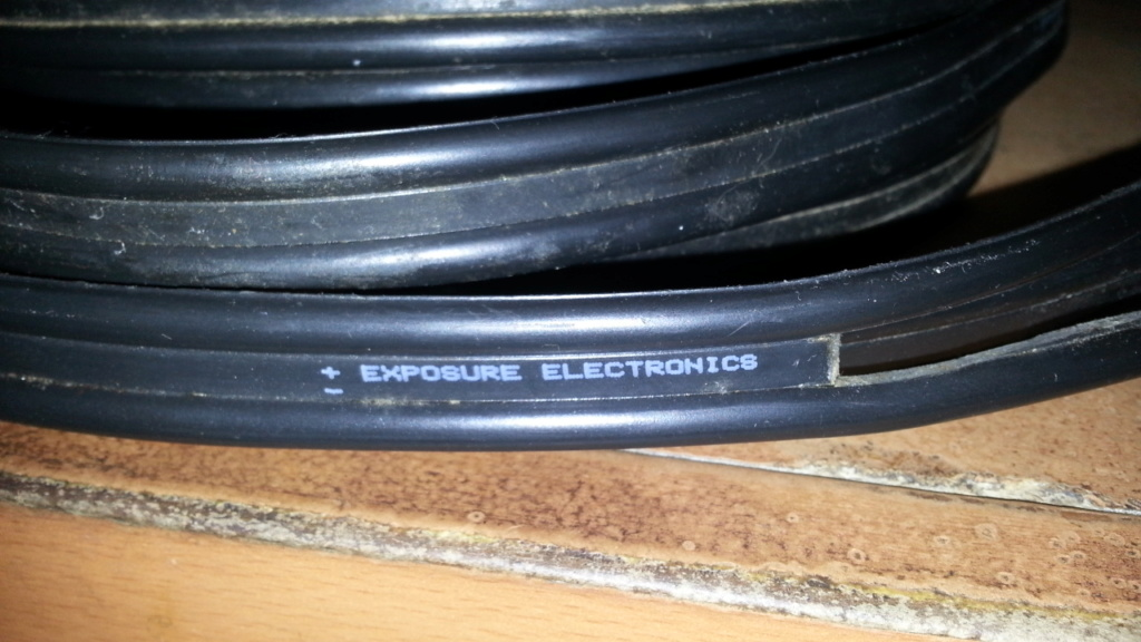 Exposure electronic speaker cable 15335110