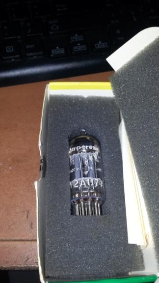 Amperex 12AU7A tube 15345610