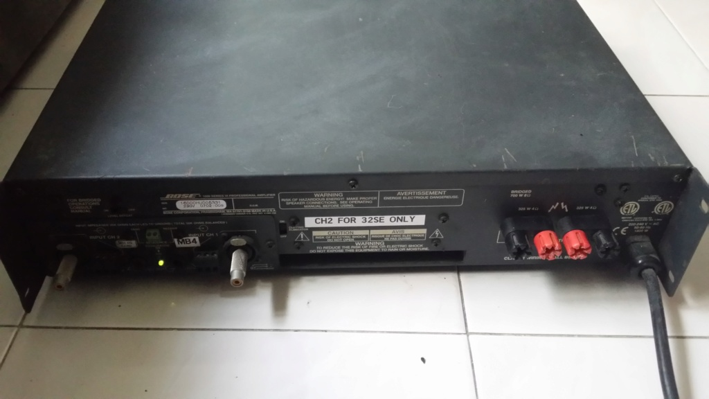 Bose 1600 series vi power amplifier 15781210