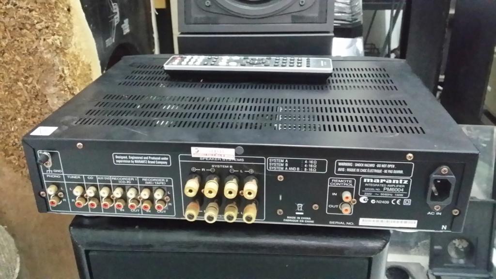 Marantz PM-6004 integrated amplifier 20190526