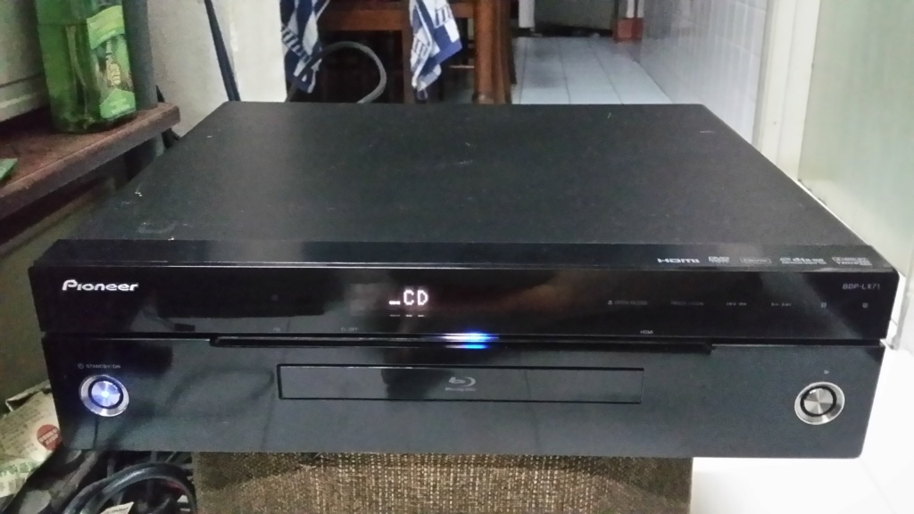 Pioneer BDP-LX71 player 20190618