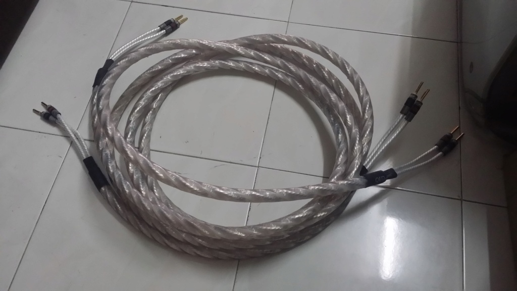 QED Genesis Silver Spiral Speaker Cable 20190631