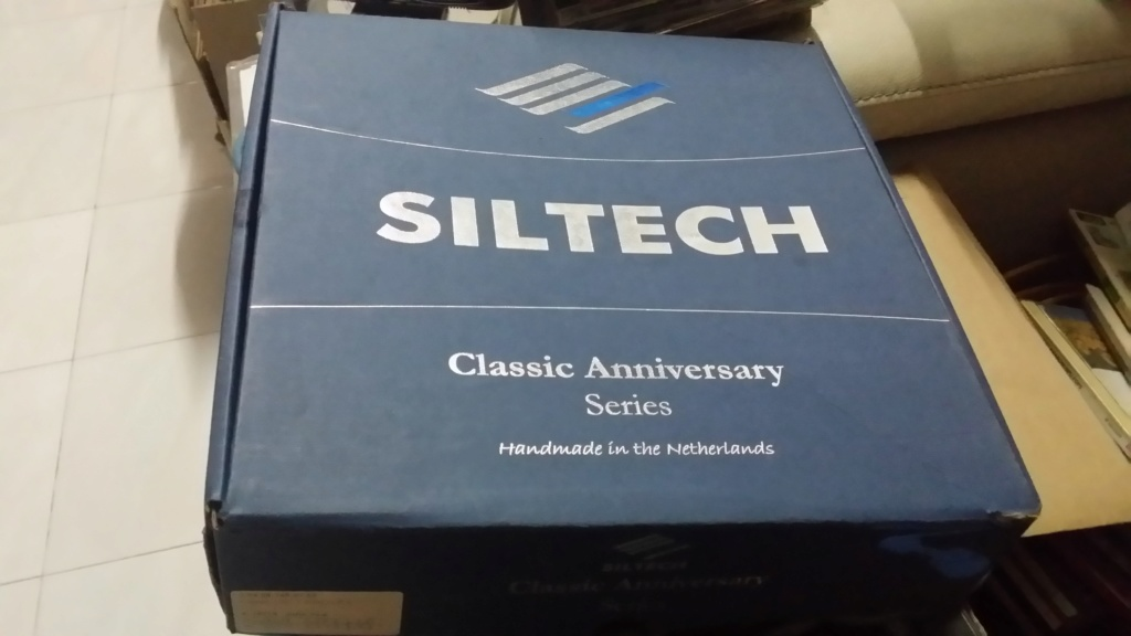 Siltech classic anniversary 220i XLR cable SOLD 20190817