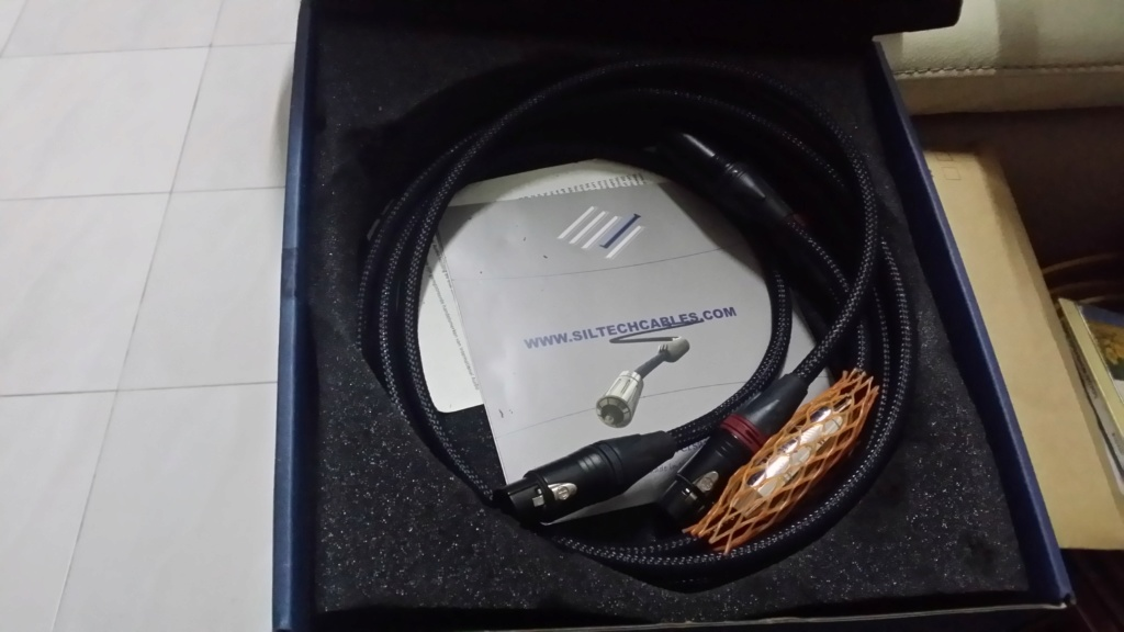 Siltech classic anniversary 220i XLR cable SOLD 20190818