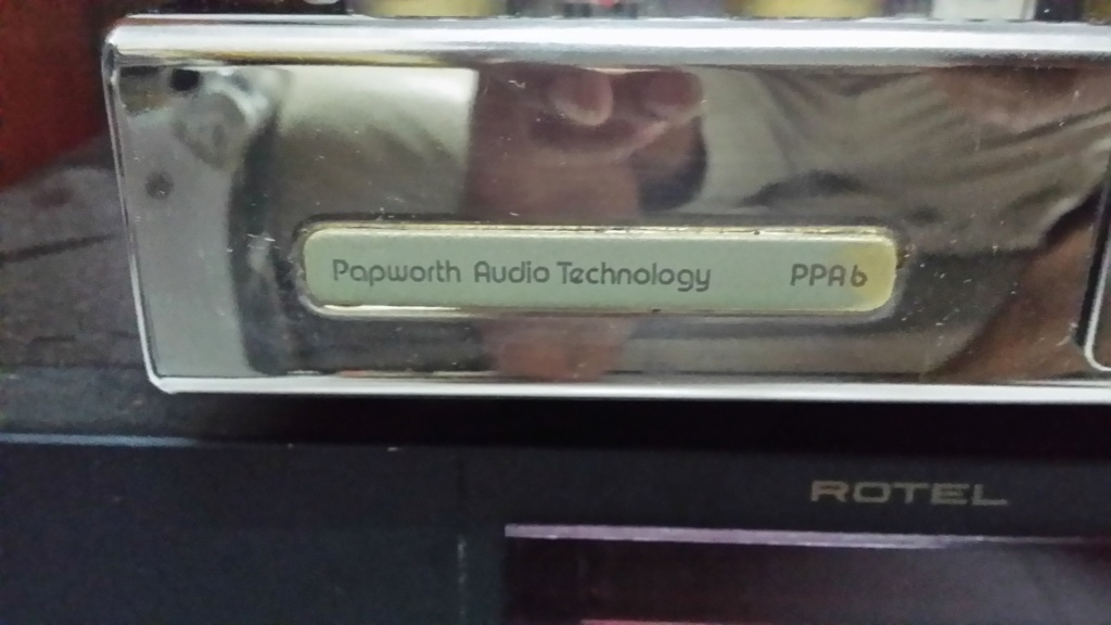 Papworth audio technology ppa6 tube preamp 20191025