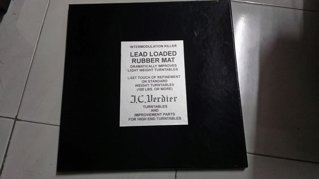 J.C.verdier turntable lead loaded rubber mat 20191211