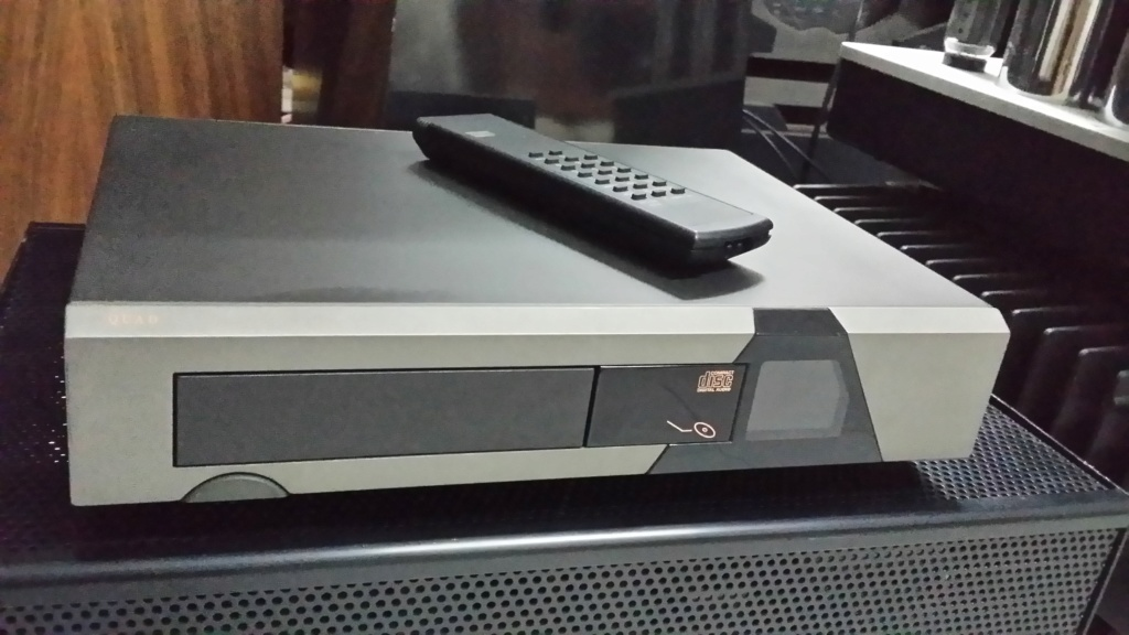 Quad CD67 cd player 20191216
