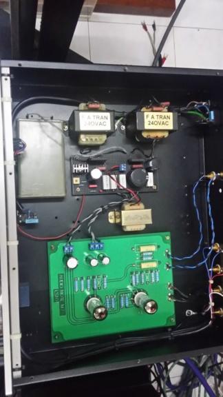 DIY audio note M7 tube preamplifier 20191234
