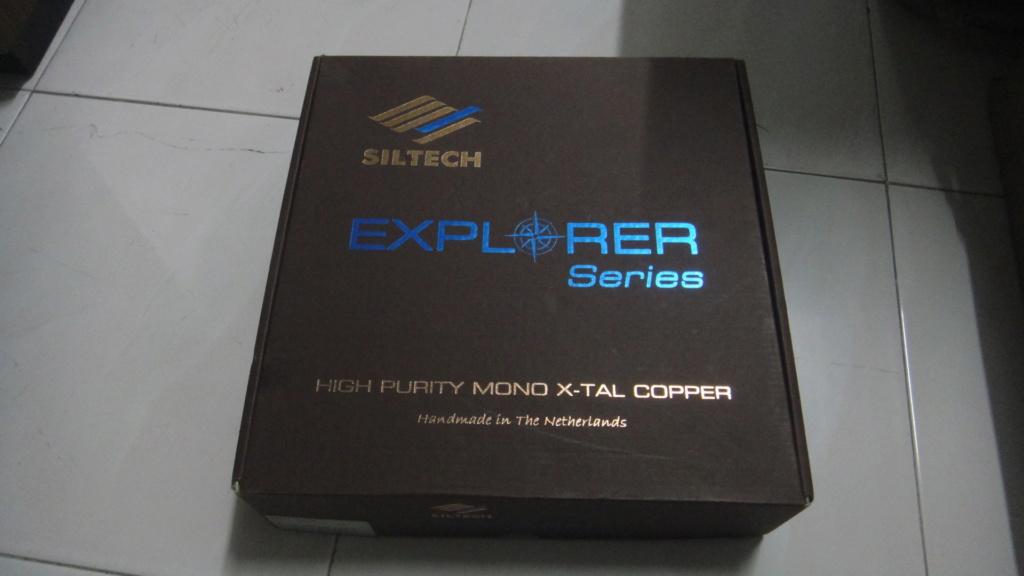 Siltech explorer series 180ix XLR Interconnect Cables Dsc06722