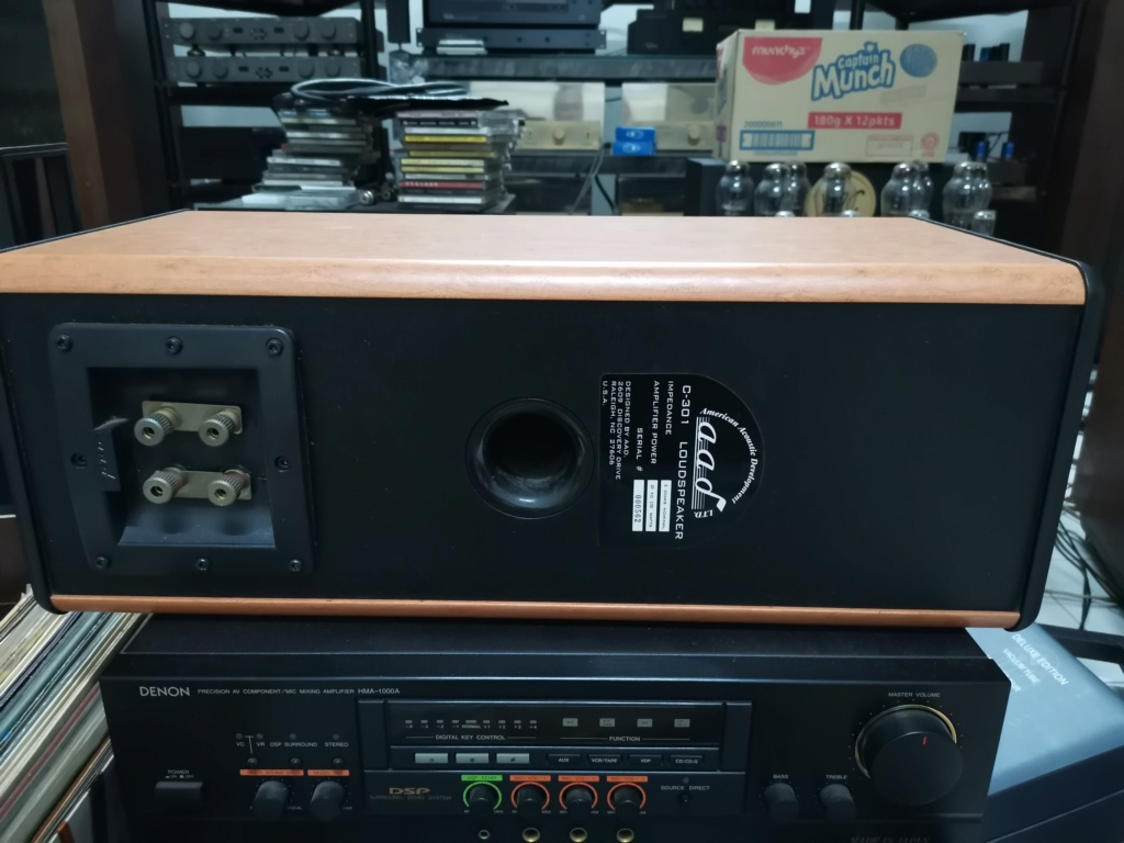 AAD C-301 center speaker Img_2023