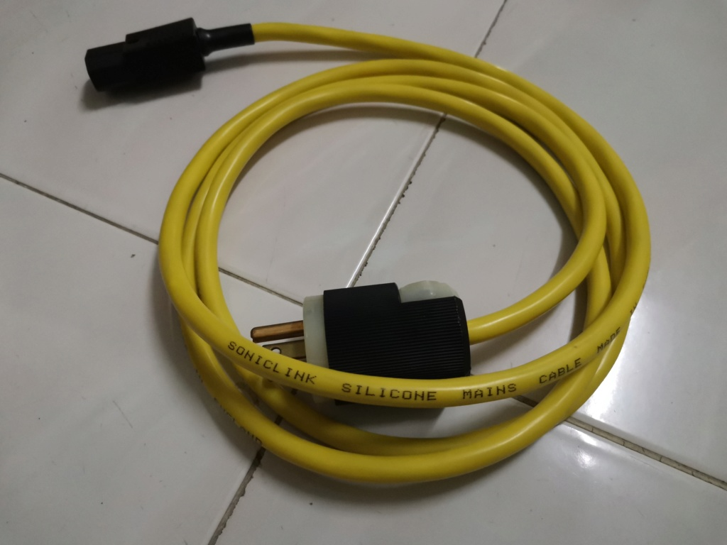 Sonicl ink silicone mains cable Img_2030