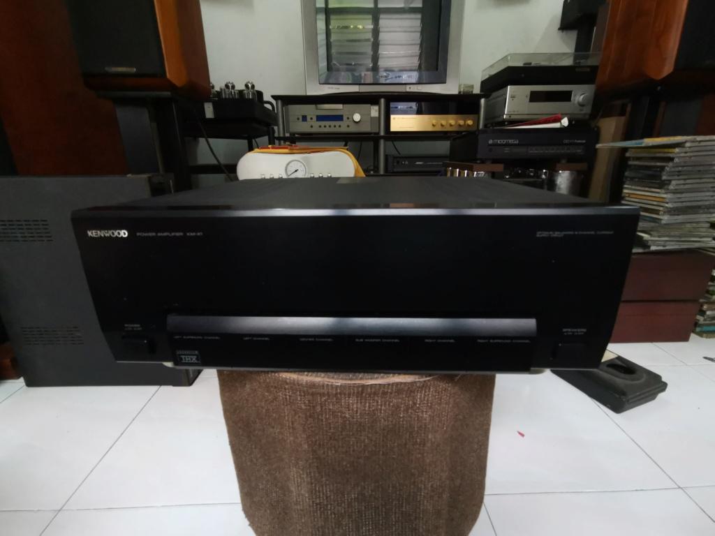 Kenwood KM-X1 Multi-Channel Power Amplifier Img_2049