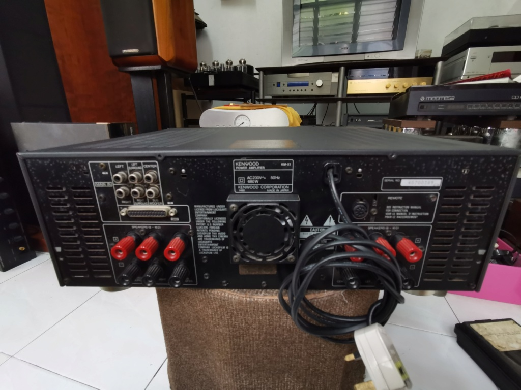 Kenwood KM-X1 Multi-Channel Power Amplifier Img_2050