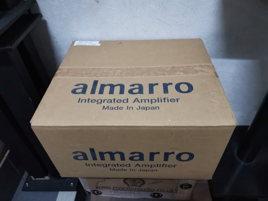 Almarro A205A mk II EL84  valves Integrated Amplifier Img_2087