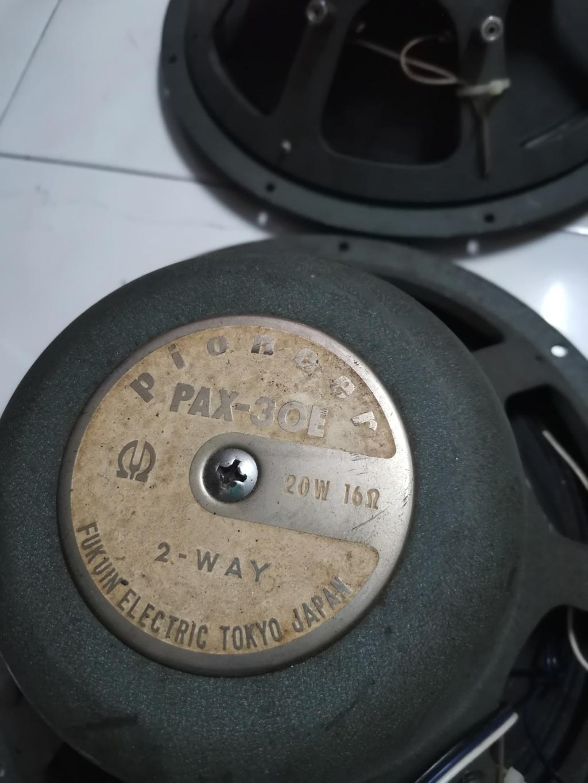 Pioneer PAX-30E speaker SOLD Img_2145