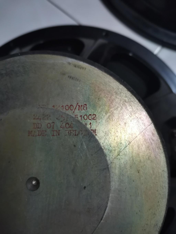12'' full range speaker SOLD Img_2155