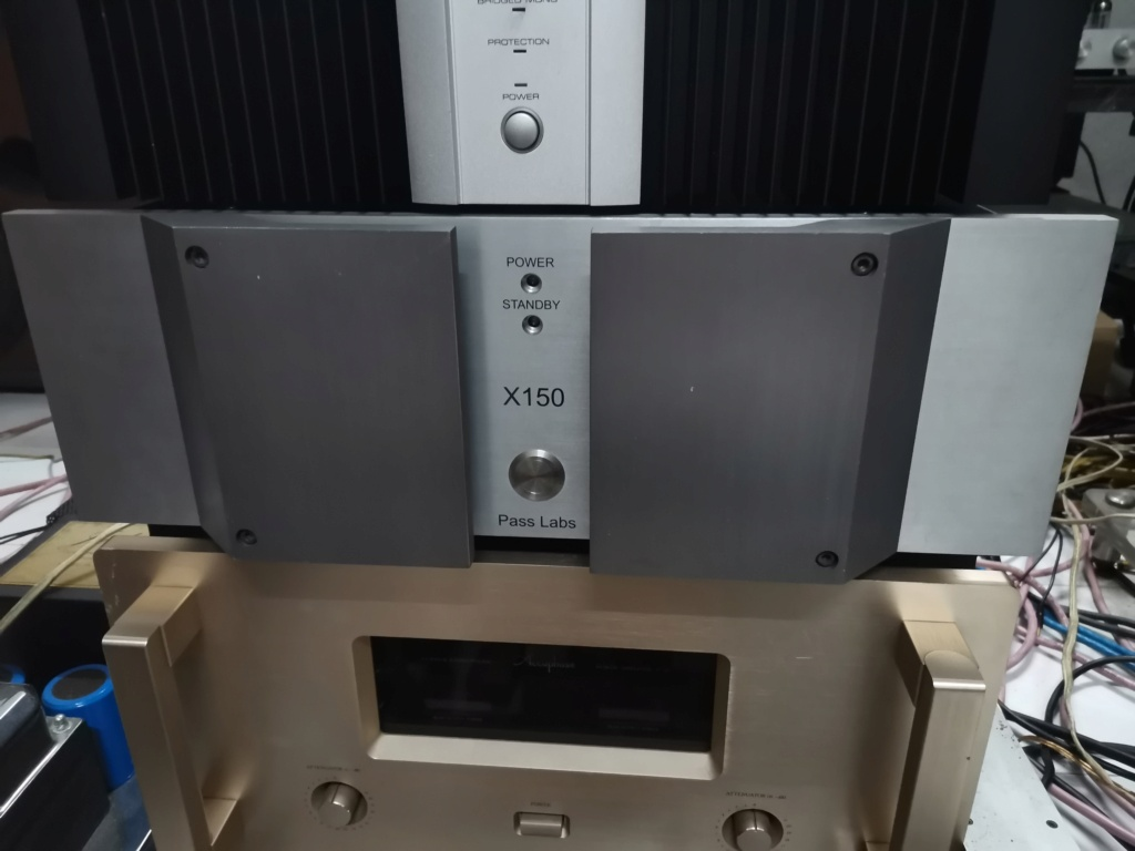 Pass labs X 150 power amplifier Img_2164