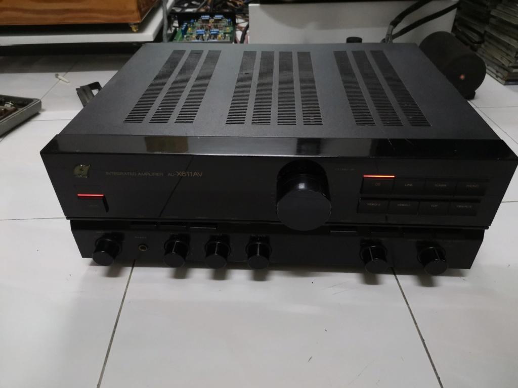 Sansui AU-X611AV amplifier Img_2175