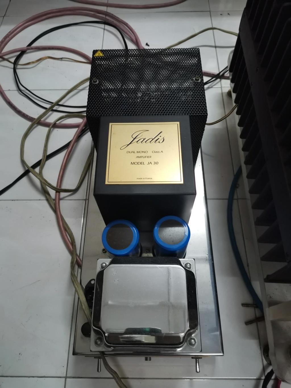 Jadis JA-30 mono power amplifier SOLD Img_2177