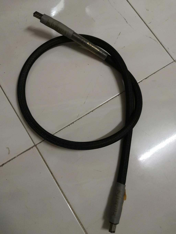 Kharma Enigma KEFW-1A FireWire cables Img_2195
