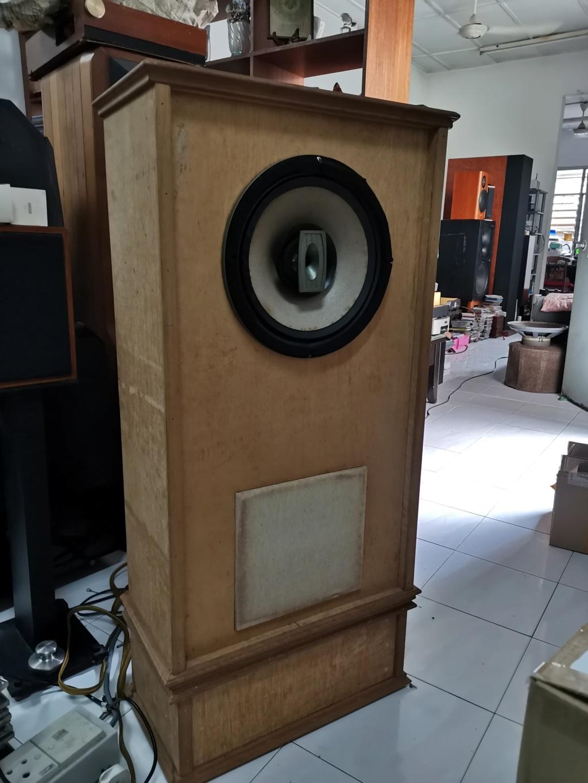 """vintage legendary 12"""" Goodmans triaxiom 1220 speakers sold Img_2197"""