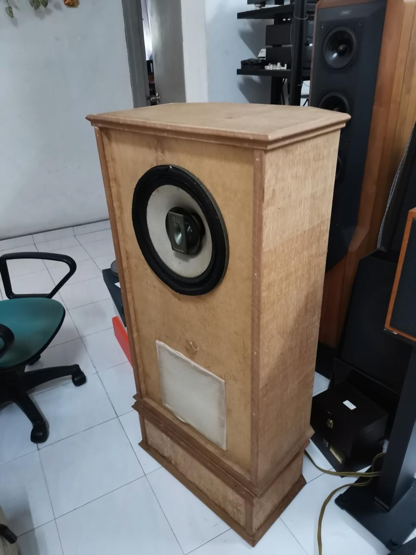 """vintage legendary 12"""" Goodmans triaxiom 1220 speakers sold Img_2199"""