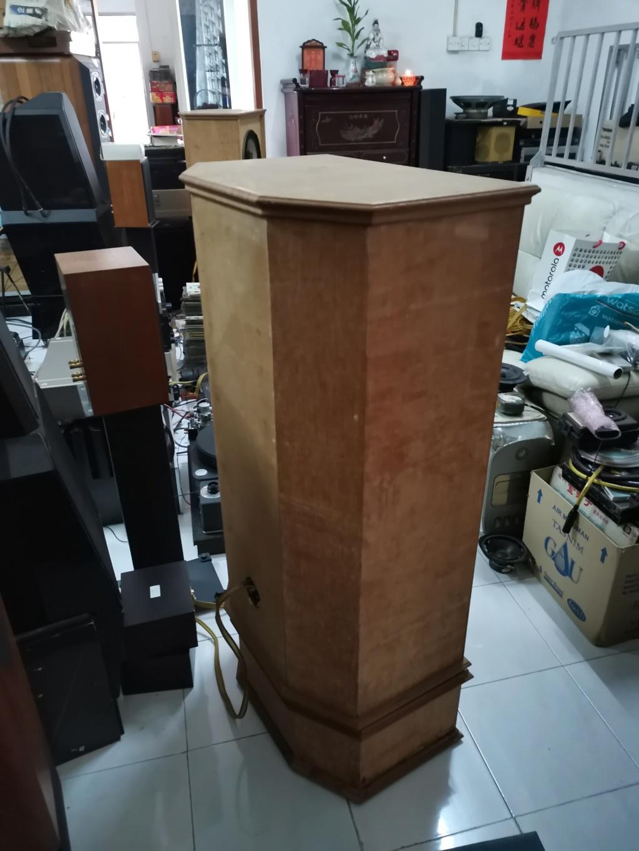 """vintage legendary 12"""" Goodmans triaxiom 1220 speakers sold Img_2200"""