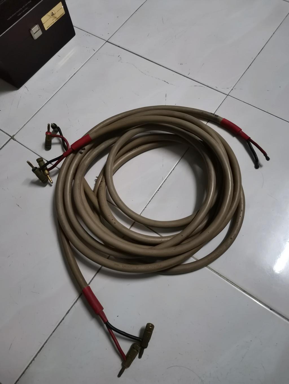 Quad QLSCR4 speaker cable Img_2213