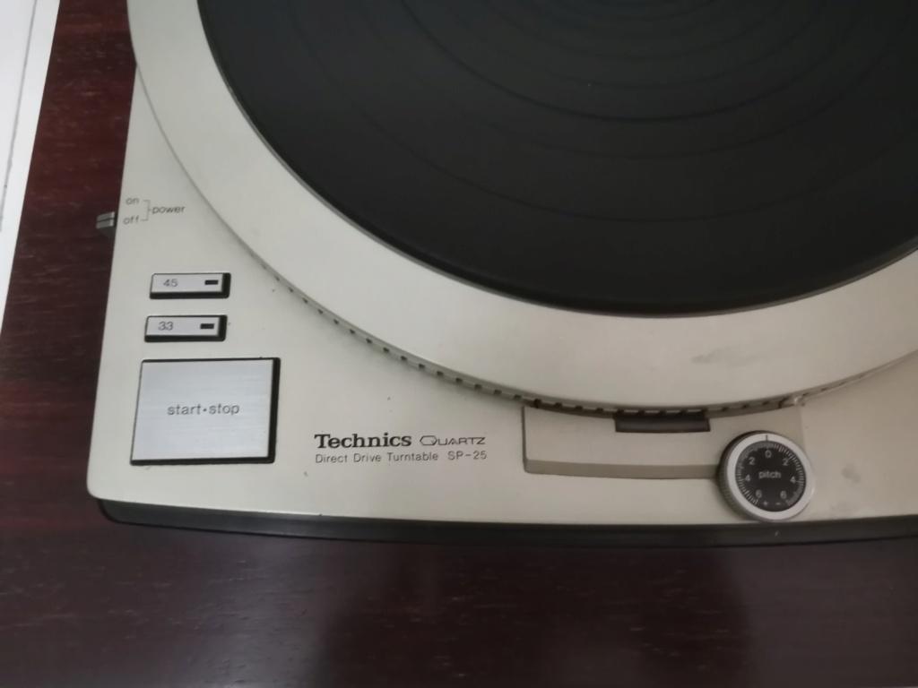Technics SP-25 turntable Img_2277