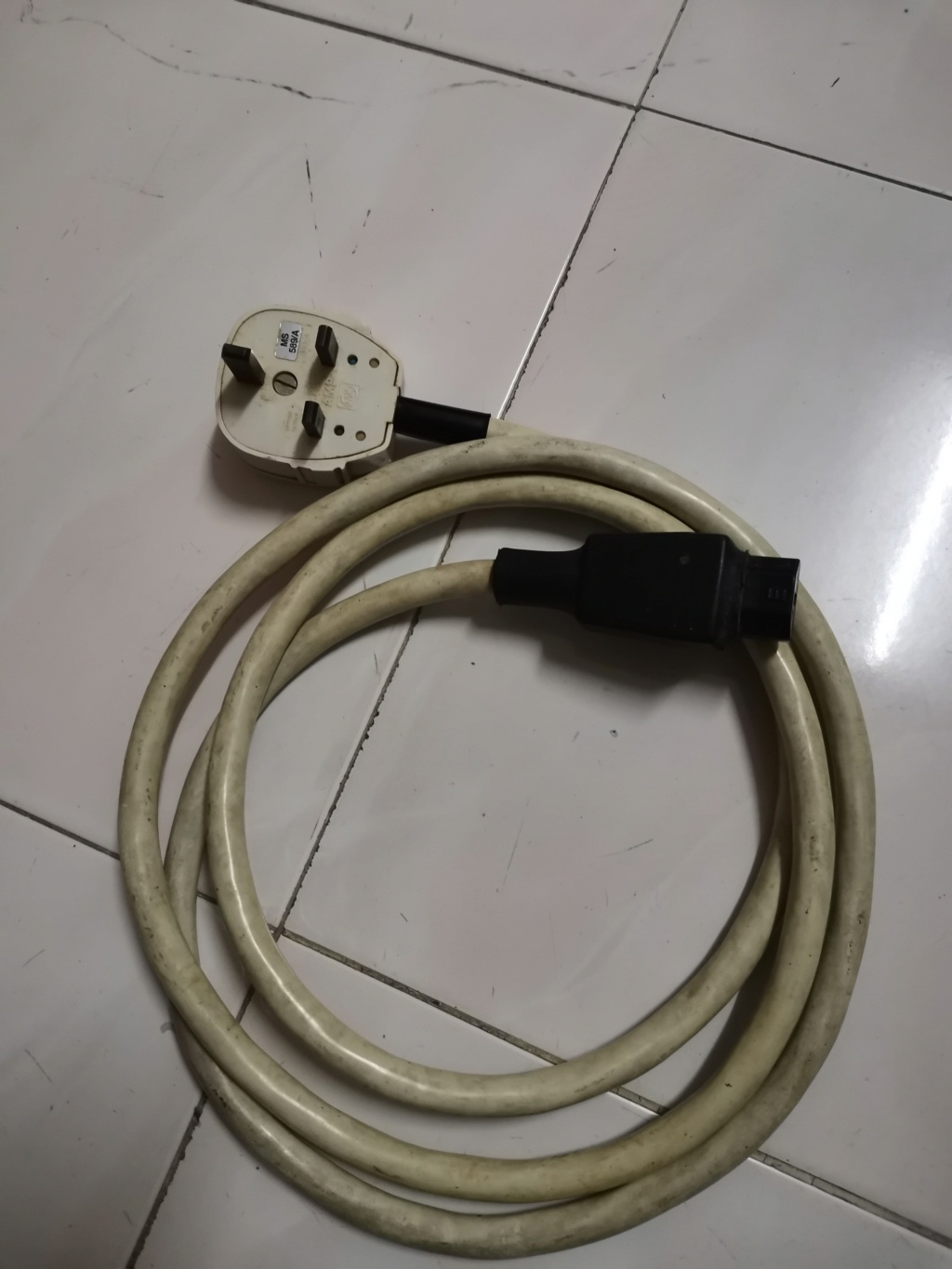 SUPRA Lorad 2.5 Power Cord Cable SOLD Img_2293