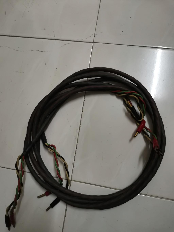 AudioQuest FLX/SLiP 14/4 speaker cable Img_2303