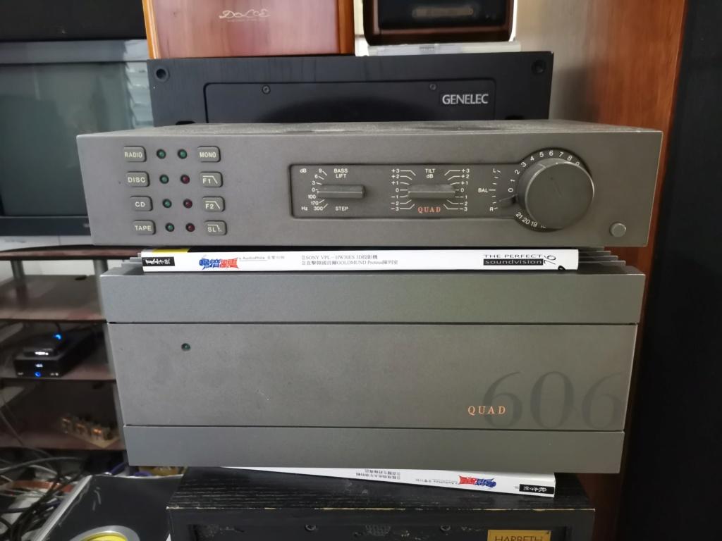 Quad 34 preamplifier & 606 mk 2 power amplifier SOLD Img_2324
