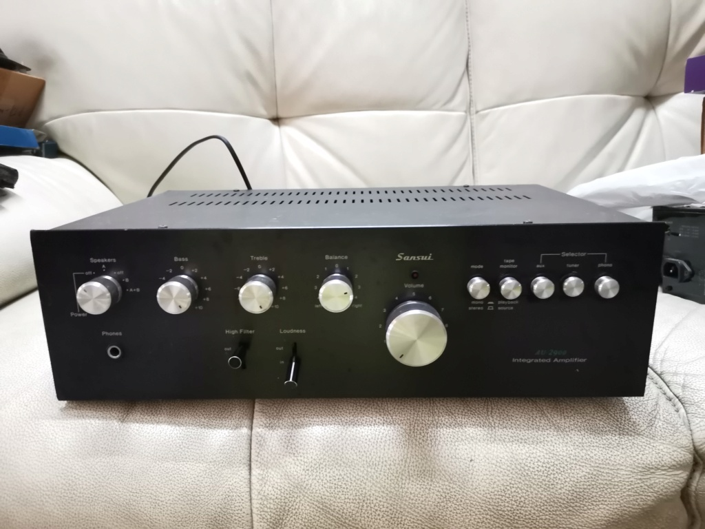 Sansui AU 2900 integrated stereo amplifier SOLD Img_2344