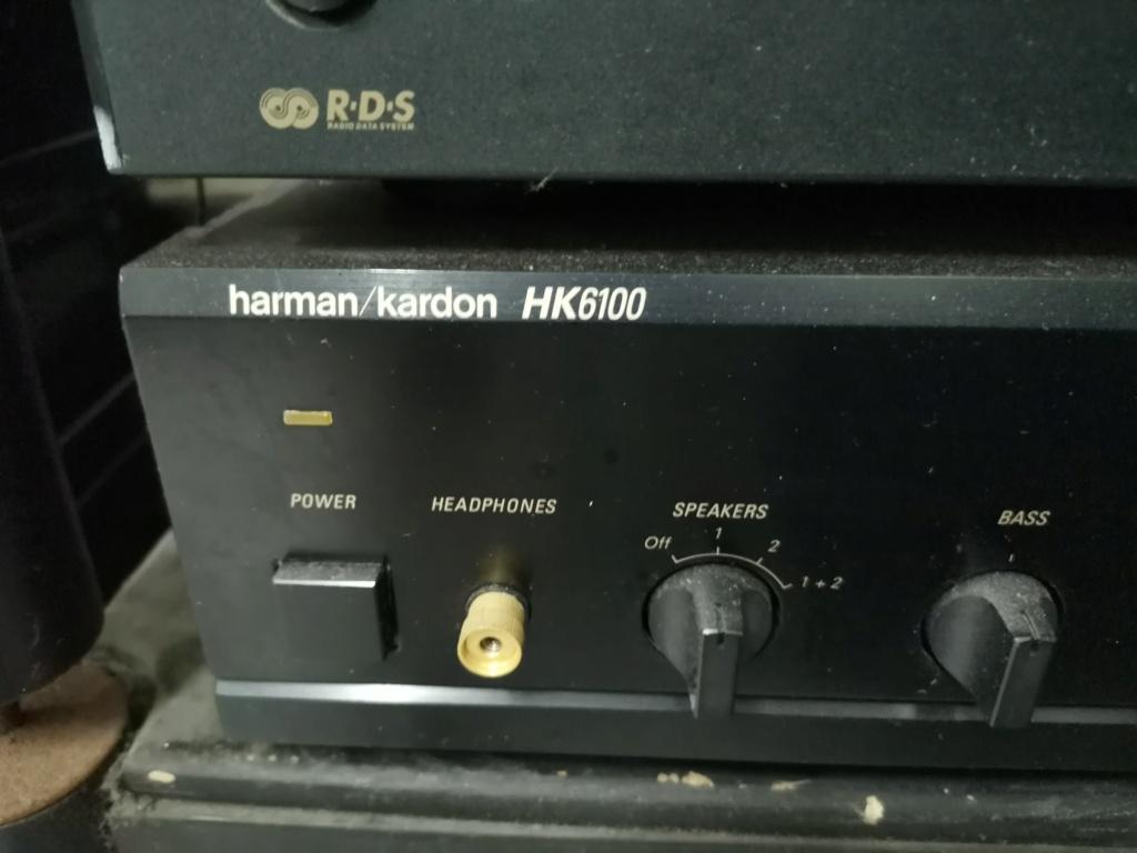 Harman Kardon HK6100 Integrated Stereo Amplifier Img_2346